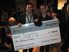 Storify Wins Accelerator