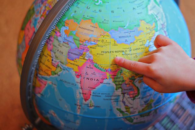 Globe China 3