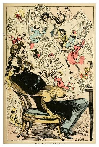 011-Jules Mitaine abogado de la señora Badinard-La grande mascarade parisienne 1881-84-Albert Robida