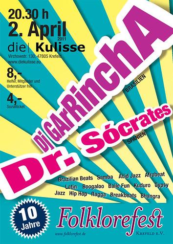 Dj GArRinchA & Dr. Sócrates by GArRA Berlin