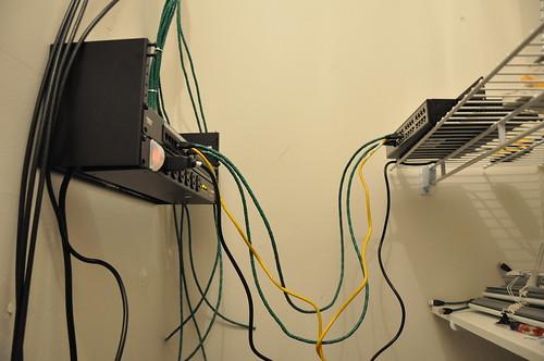 Home Network / Wiring Closet | Jason's Blog on