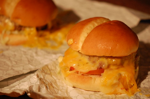 Steamed Cheeseburgers