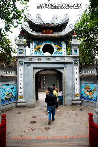 Den Ngoc Son Temple