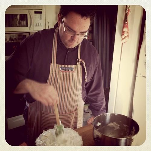Alex makes the lemon meringue pie