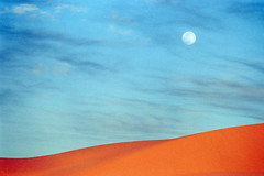 Moon (ronniedankelman) Tags: africa travel sunset moon art sahara beautiful canon landscape amazing zonsondergang sand desert kunst dune middleeast afrika mooi colourful libya sanddune landschap zand kleurrijk afrique reizen duin woestijn maan schoonheid fezzan ubarisandsea libie murzuq jamahiriya middenoosten fizan waanzinnig zandduin lbiyy idehanubari mygearandme mygearandmepremium mygearandmebronze mygearandmesilver mygearandmegold mygearandmeplatinum mygearandmediamond phasania imaginativenl flickrstruereflection1 flickrstruereflection2