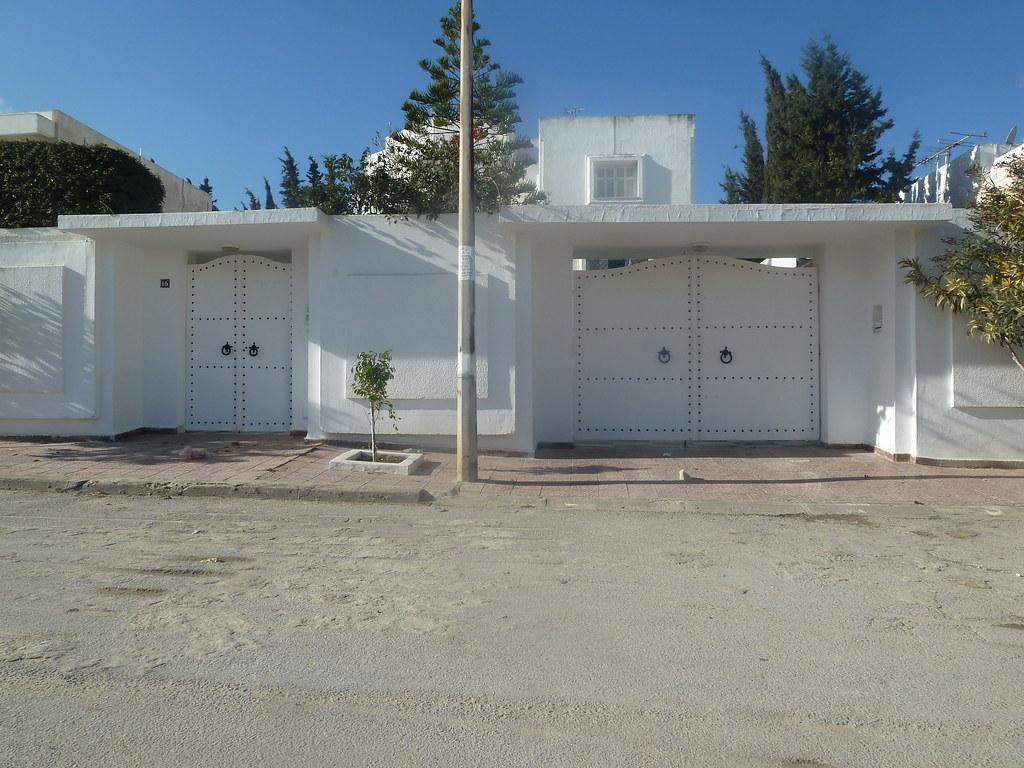 Porte d entr e fer forg en tunisie - Exemple facon de entre villa en tunisie ...
