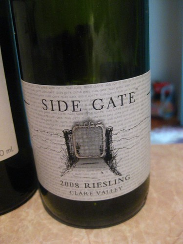 Side gate riesling