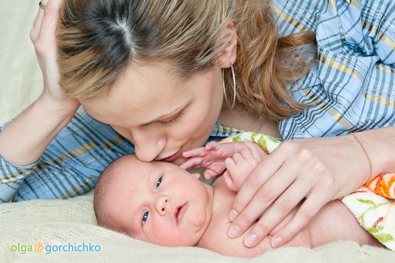 Фотографирование новорожденных.  Арсюша, 12 дней