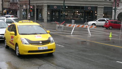 Fake Turkish Taxi for Chaos filming - 032120114085