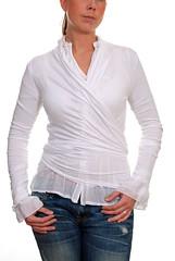 Kort Wraparound kofta frn mondaii.se (mondaii.com) Tags: fashion french italian clothes mode klder tunika klnningar wraparoundkofta