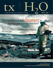 New txH2O magazine covers oil spill, golden algae and more
