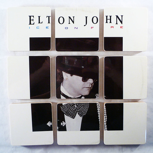 Elton John, Fire and Ice Album Cover Coasters