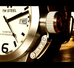 Watch (Focusje (tammostrijker.photodeck.com)) Tags: detail macro watch gift canteen wrist horloge winder knob tw remontoir twsteel lovemylittlelumixcameraforthesemacroshots