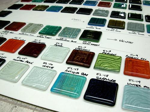 Vitrium Tile Sample Board