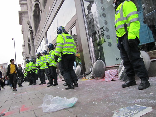 Anti-cuts Riot in London