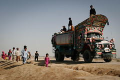 Filming in progress (Lil [Kristen Elsby]) Tags: unicef pakistan camp truck children asia child documentary getty dadu filmmaking sindh filmmaker tanker tentcity gettyimages southasia watertruck reliefcamp flickrvision idpcamp videographer sindhi truckart idp travelphotography tentcamp internallydisplacedperson gettyimagesonflickr jakhrotentcity tankering watertankering flickreditorial