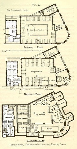 Floor plans of Nevills Baths