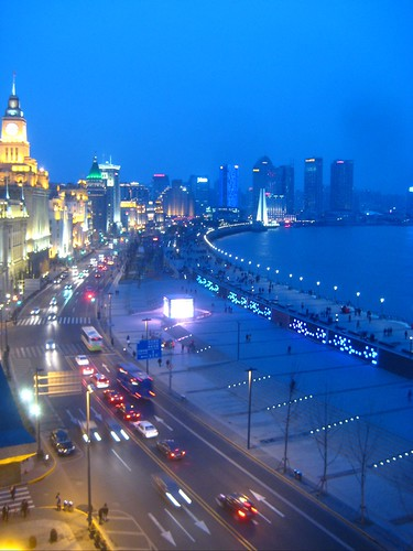 the view from M on the Bund