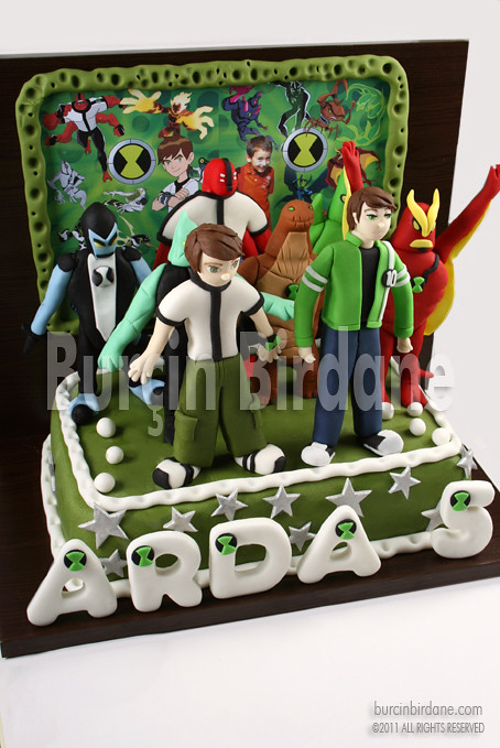 Ben 10 ve Ben 10 Alien Force Pastasi 1