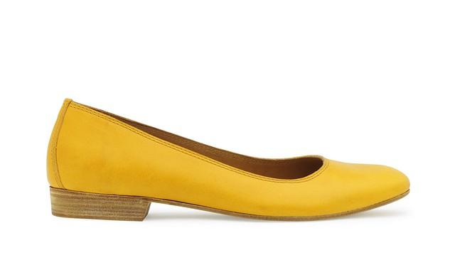 001 Ballerina Hepburn Yellow