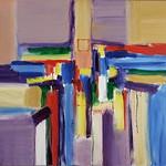 """<b>Violet Rhapsody</b><br/> Richard Scherubel (LC '63) (Acrylic)<a href=""""http://farm6.static.flickr.com/5296/5571792294_5780bcdbb3_o.jpg"""" title=""""High res"""">∝</a>"""