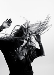 Are you gonna go my way? (Spectral Convergence) Tags: hair dance lennykravitz hairflip totw strobist