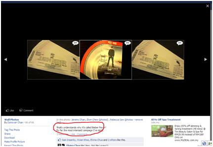 Facebook- Tune Bieber