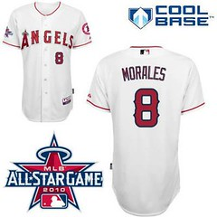 Los Angeles Angels of Anaheim #8 Kendry Morales White Home Cool Base 2010 All Star Patch Jersey (Terasa2008) Tags: jersey losangelesangels  cheapjerseyswholesale cheapmlbjerseys mlbjerseysfromchina mlbjerseysforsale cheaplosangelesangelsjerseys