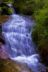 Ingars hidden falls (edwinemmerick) Tags: green 20d water pool creek canon river eos waterfall pond rocks stream australia bluemountains nsw waterhole edwin ingar emmerick edwinemmerick