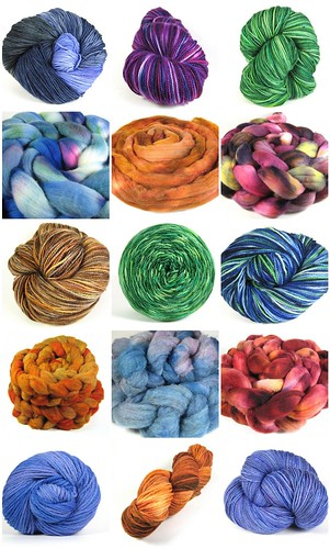 New yarn and fiber at the shop