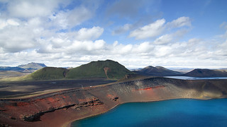 Ljótipollur (Lac moche / Ugly lake) - Landmannalaugar, Iceland