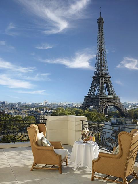 絶景ホテル シャングリラ ホテル パリ