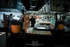 Traffic jam, Tsukiji Fish Market (Pop_narute) Tags: tsukiji fishmarket market transport traffic jam people life tokyo japan