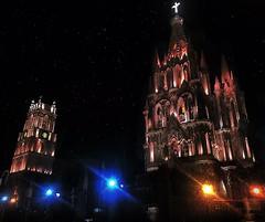 Catedral San Miguel de Allende (paolahiguera) Tags: beautifulchurches iphone mexico guanajuato mxico sanmigueldeallende