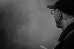 Foggy mountains (MarcelPictures) Tags: harz gebirge mountains germany stausee okertalsperre abend evening sunset wolken clouds violett purple orange himmel sky fog foggy nebel nebelig zigarette rauch smoke weis white strase street fluss river geländer wald licht light shining kurven durves brücke bridge abgrund decent schwarzweis blackwhite black schwarz grau beautiful nice cool fancy impressiv epic