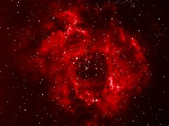 Rosette nebula in Ha (Mickut) Tags: nebula rosette starlightxpress Astrometrydotnet:status=solved Astrometrydotnet:version=14400 sxvrh18 Astrometrydotnet:id=alpha20110157796079