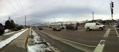Mountains in Missoula, Montana