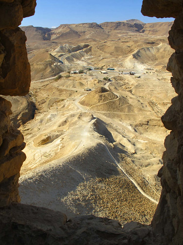 Roman Ramp leading to Masada