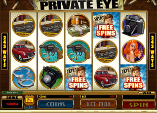 free Private Eye slot mini symbol 2