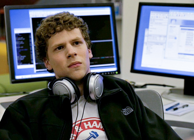 Jesse Eisenberg as Mark Zuckerberg