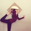 365/28 - Flexibility (RachelMarieSmith) Tags: yoga vintage mirror dance zen squareformat 365 thermal stretching leggings 2011 36528 1to365