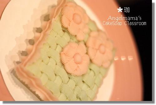天使媽媽蛋糕皂教學珈3