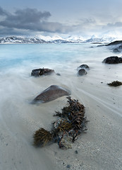 Chocolate Box (Reed Ingram Weir) Tags: seascape mountains norway arctic clearwaters sommaroy
