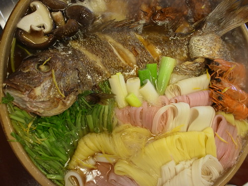 tai-men (sea bream noodle)