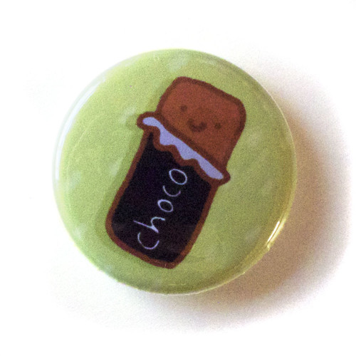S'Mores Chocolate Bar - Button 01.26.11
