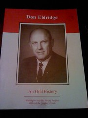 Image for Don Eldridge: An Oral History