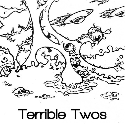 """Terrible Twos 7"""" cover"""