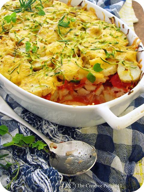 Potato, Zucchini & Tomato Bake e2-w