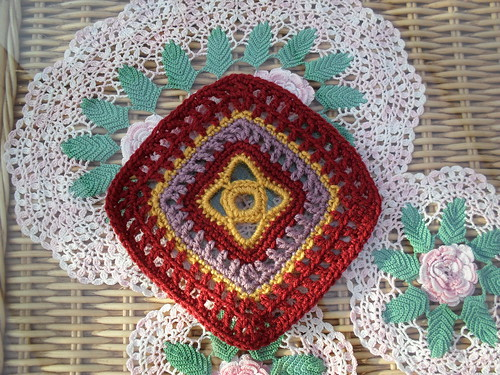 Jen has taken part in our Jan Eaton Challenge. This is No. 48 'Danish Square'. Nice pattern don't you think? Thanks so much Jen all so pretty!