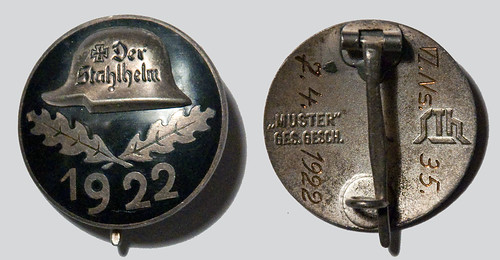 Der Stahlhelm Badge http://www.wehrmacht-awards.com/forums/showthread.php?t=491255